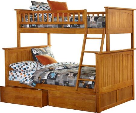 Atlantic Furniture AB59217  Twin over Full Size Bunk Bed