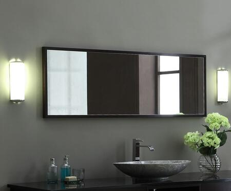 Xylem MBLOX60DW  Rectangular Portrait Bathroom Mirror