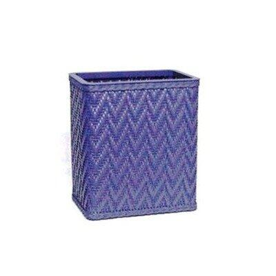 Redmon S423X Elegante Collection Decorator Color Wicker Wastebasket in
