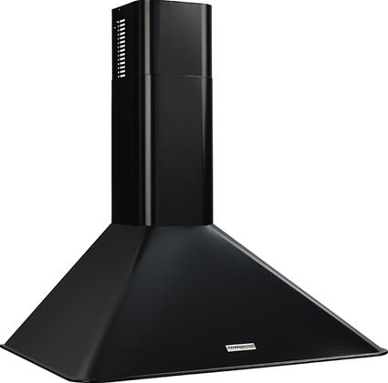 "Broan Elite RM5030 30"" Canopy Wall Mount Range Hood with 270 CFM Inline Blower, Heat Sentry, Dual Incandescent Lamps, Dishwasher-Safe Aluminum Filter & Multi-Speed Slide Control in"