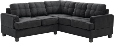 Glory Furniture G515BSC G510 Series Stationary Suede Sofa