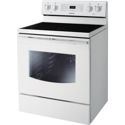 Samsung Appliance NE595R0ABBW  Electric Freestanding Range with 5.9 cu. ft. Primary Oven Capacity, Storage