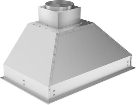 Z Line 721ix Island Range Hood Insert With x Directional Halogen Lights, Speed/Timer Panel With LCD, and Stainless Steel Baffle Filters in Stainless Steel