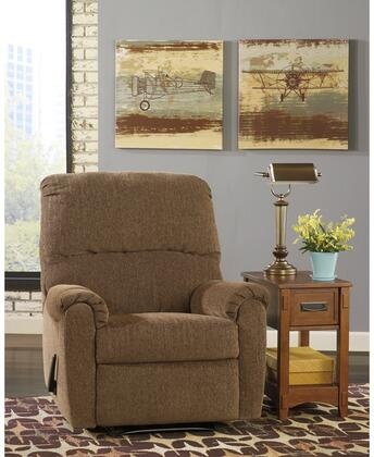 Flash Furniture FSD7869RECHUGWALGG Pranit Series Contemporary Fabric Metal Frame  Recliners