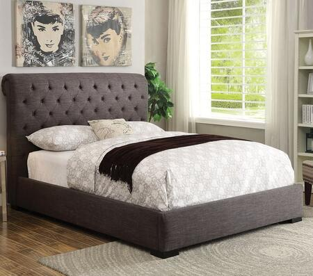 Acme Furniture 25280Q Westmist Series  Queen Size Panel Bed