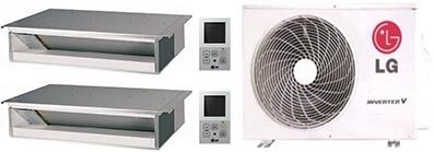 LG 749429 Dual-Zone Mini Split Air Conditioners