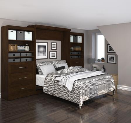 "Bestar Furniture 26886 Pur by Bestar 136"" Queen Wall bed kit"