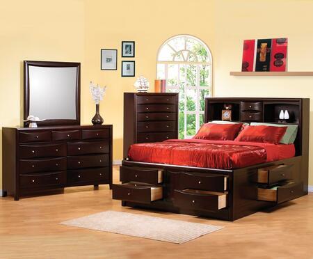 Coaster 200409KWSET Phoenix California King Bedroom Sets