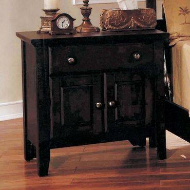 Yuan Tai GV3503N Giovanna Series Rectangular Wood Night Stand