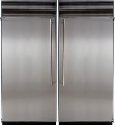 Marvel 707919 Side-By-Side Refrigerators