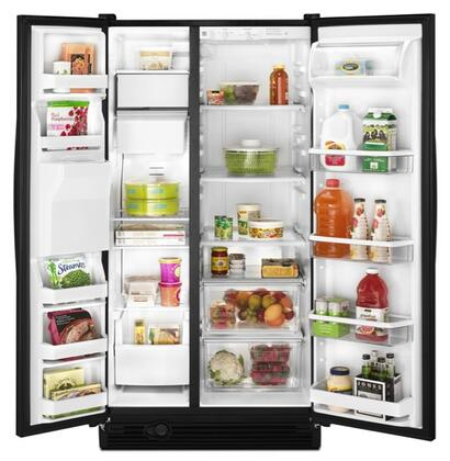 Amana ASD2522WRS Freestanding Side by Side Refrigerator |Appliances Connection