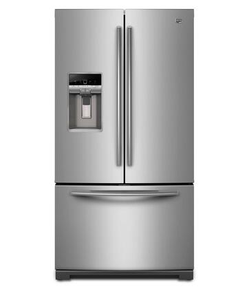 "Maytag MFT2976AEM 36"" Ice20 Series  French Door Refrigerator with 28.6 cu. ft. Total Capacity 3 Glass Shelves"