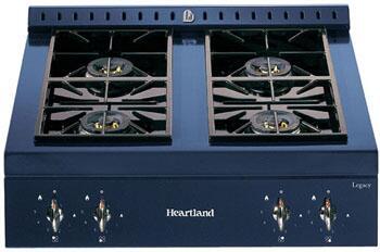 Heartland 380017LP  Gas Sealed Burner Style Cooktop, in Gun Metal
