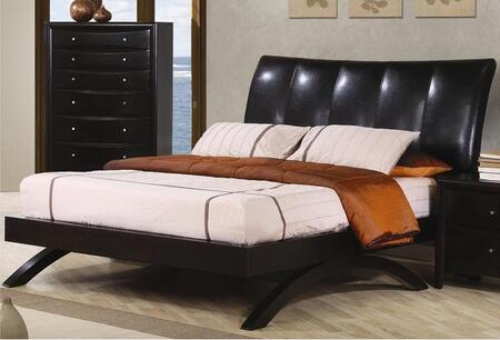 Coaster 300356Q Phoenix Series  Queen Size Sleigh Bed