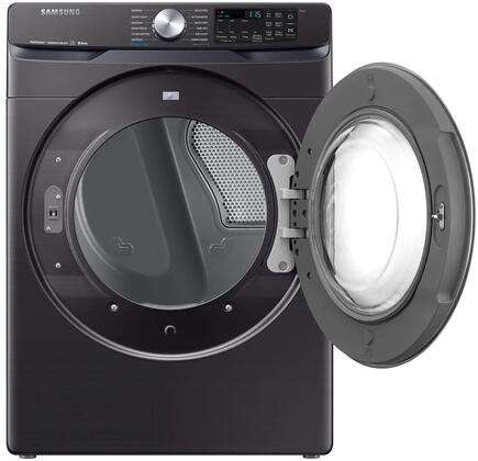 Samsung DVE45R6300V 27 Inch Electric Dryer with 7 5 cu  ft  Capacity