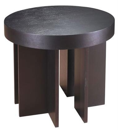Allan Copley Designs 310902 La Jolla Series Contemporary Round End Table