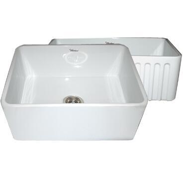 Whitehaus WHFLPLN2418SBLU  Sink