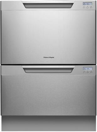 "Fisher Paykel DD24DCX7 24"" DishDrawer Series Drawers Semi-Integrated Dishwasher"