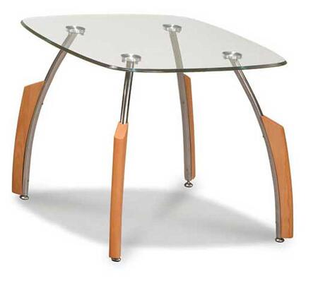 Global Furniture USA 138BEECH3PC Coffee and Cocktail Tables