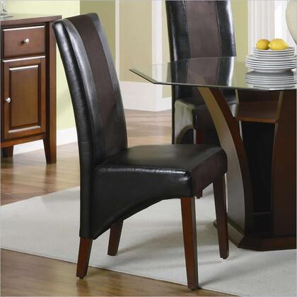 Coaster 102242 Rodeo Series Contemporary Vinyl Wood Frame Dining Room Chair