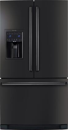 "Electrolux EI23BC35K IQ-Touch 36"" Wide 22.6 cu. ft. Energy Star Counter-Depth French-Door Refrigerator, IQ-Touch Electronic Controls, SpillSafe Sliding Glass Shelves, Sabbath Mode in"