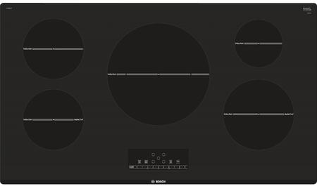"""Bosch NIT8668XUC 36"""" 800 Series CSA Certified Induction Cooktop with 5 Elements, AutoChef, Pan Sensor, and Child Lock, in"""