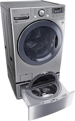 LG WM3575CVkit1 FrontLoad Washer and Dryer Combos