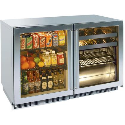 Perlick HP48RBS3L3RDNU Signature Series Counter Depth All Refrigerator with 12.3 cu. ft. Capacity in Stainless Steel
