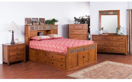 Sunny Designs 2334ROSKBDMNC Sedona King Bedroom Sets