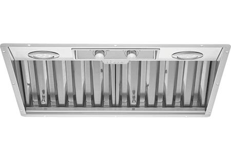 Dacor RNIVS Renaissance Series Integrated Ventilation System with LED Lighting, Removable Baffle Filters, Variable Blower Controls, and Auto ON, in Stainless Steel