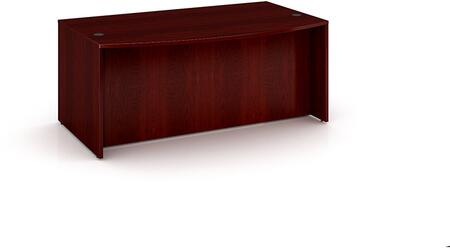 Boss N189M Transitional Bow Front Office Desk