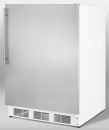 Summit SCFF55SSHV  Counter Depth Freezer with 5 cu. ft. Capacity