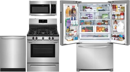 Frigidaire 811779 4 piece Stainless Steel Kitchen Appliances Package