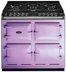 AGA A64LPGSIHTH  Dual Fuel Freestanding Range with Sealed Burner Cooktop, 4.5 cu. ft. Primary Oven Capacity, in Heather