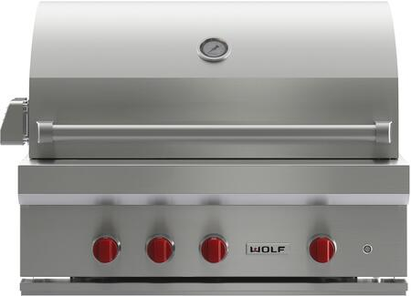 Wolf OGCART36 Natural Gas Grills