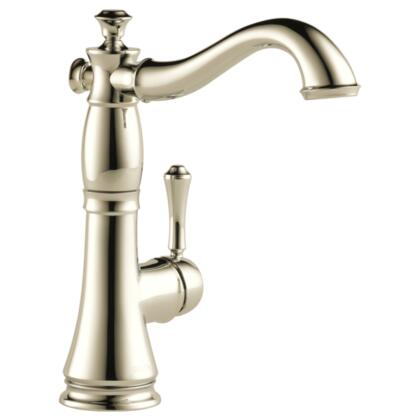 Cassidy  1997LF-PN Delta Cassidy: Single Handle Bar / Prep Faucet in Polished Nickel