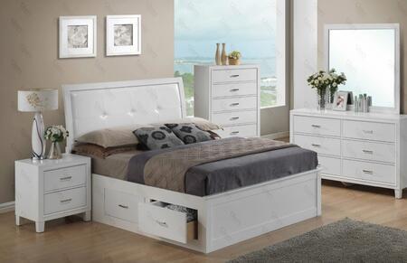 Glory Furniture G1275BKSBNTV G1275 King Bedroom Sets