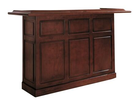 """American Heritage Lexington Series 600011XX 72"""" Home Bar With Open Shelves and Removable Ice Storage and Bottle Wells"""