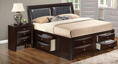 Glory Furniture G1525ITSB4N G1525 Twin Bedroom Sets
