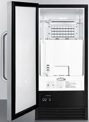 summit bim44g built in ice maker with 50 lbs daily ice. Black Bedroom Furniture Sets. Home Design Ideas