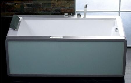 A View of the Tub Set up in a Bathroom