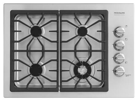 Frigidaire Professional FPGC3085KS Professional Series Gas Sealed Burner Style Cooktop