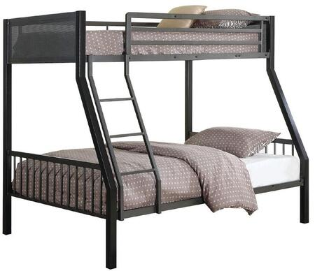 Coaster 460391 Meyers Series  Twin Over Full Size Bunk Bed