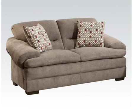 Acme Furniture 52346 Roselyn Series Fabric Loveseat Appliances Connection