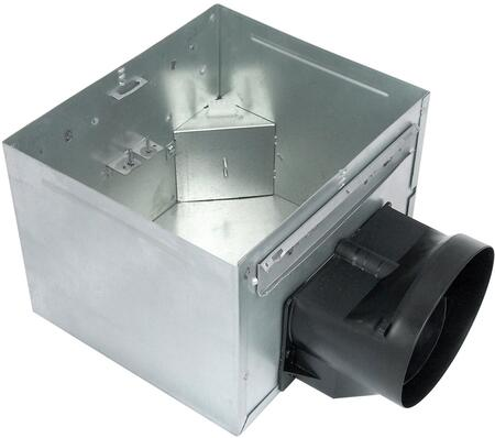 Air King AKXLS6H Exhaust Fan with x CFM, 23 Gauge Galvanized Steel Housing, Humidity Sensor, Polymeric Grill, in White.