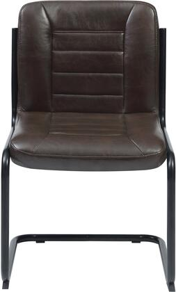 Coaster 122133 Chambler Series Transitional Metal Frame Dining Room Chair