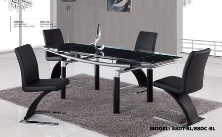 Global Furniture USA D88NSETBL Global Furniture USA Dining R