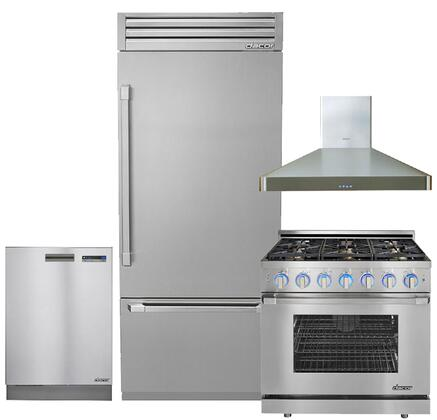 Dacor 664346 Discovery Kitchen Appliance Packages