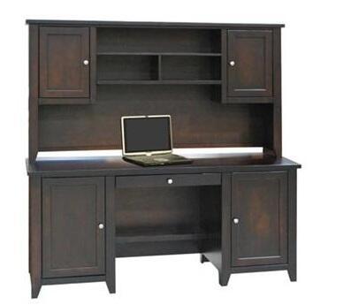 Legends Furniture UL6717MOC Urban Loft Series Hutch
