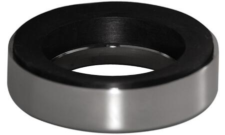 Mounting Ring with Polished Chrome Finish (Regular View)
